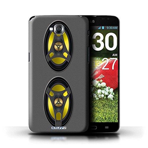 Kobalt® Imprimé Etui / Coque pour LG G Pro Lite/D680 / Autoradio conception / Série Haut-Parleur dessin Autoradio