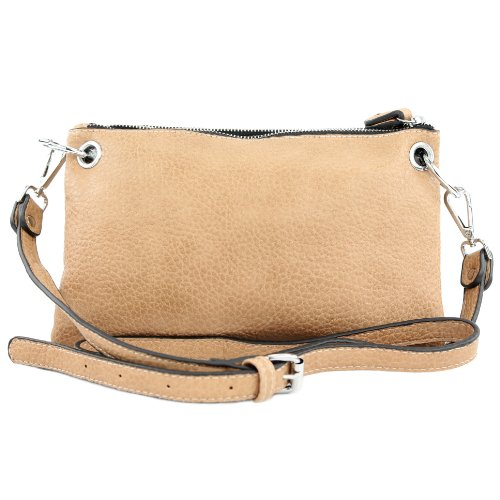Borsa a sacchetto donna borsa in finta pelle in finta pelle donna LK138065 Camel