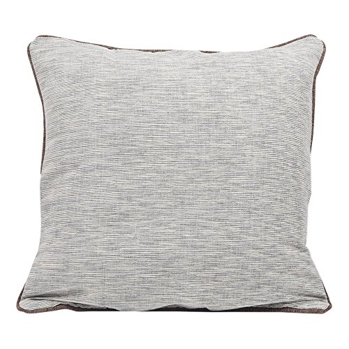 Decorative Throw Pillow Cushion Cover for sofa Set 100% Cotton Basic Design Home Bedding Accessories (Single)  available at amazon for Rs.105