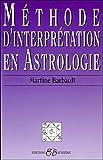 Méthode d'interprétation en astrologie