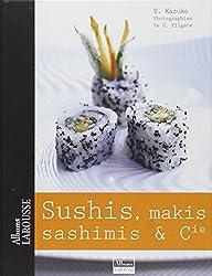 Sushis, makis et sashimis et Cie