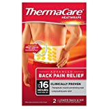 ThermaCare Advanced Back Pain Therapy (2 Count) Heatwraps, Up to 16 Hours Pain Relief, Lower Back, Hip Use, Temporary Relief of Muscular, Joint Pains
