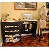 Mueble para máquina de coser- Sewnatra en Negro