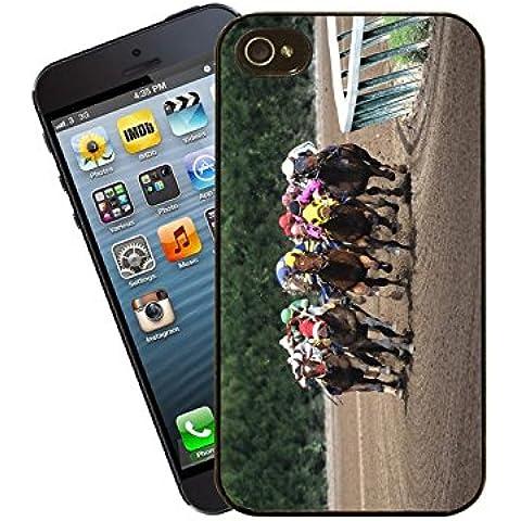 Carreras de Caballos iPhone caso–esta cubierta se ajusta Apple model 4y 4S–de Eclipse Ideas de regalo