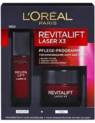 L'Oréal Paris RevitaLift Laser Tagescreme + Serum Coffret, 1er Pack