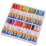 Couleur Pastel à l'huile non toxique, Pastel à l'huile à six angles, peintures pour enfants à peindre «Baby Crayons» (24 $)