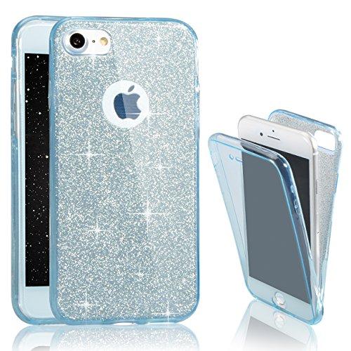iPhone 6 Plus Case (5.5 pollice), Bonice iPhone 6S Plus Cover,Bonice Colorato Ultra Thin Morbido TPU Silicone Rubber Clear Trasparente Back Creativo Case –pulcino 02 Two pieces - 02