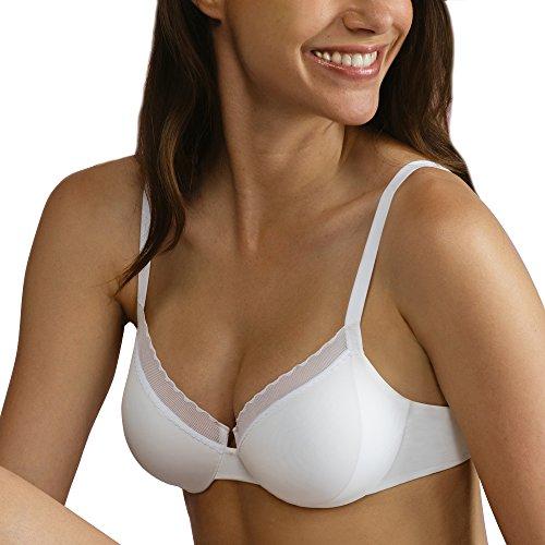 Lovable Damen Bikinioberteil Reggiseno Ferretto My Daily Comfort Weiß (003-Bianco) weiß (003-BIANCO)