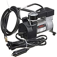 12V 14A Heavy Duty Volumen Luftkompressor Auto Reifen Inflator 300PSI, schwarz und Silber
