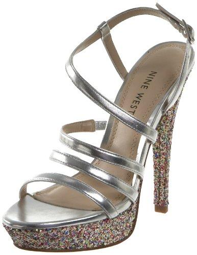 Nine West Women's Armcandy Platform Sandal - Nine West Ankle Strap Sandalen