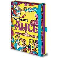 Disney Carnet vintage d'Alice au pays des merveilles, Format A5, Qualité supérieure