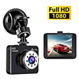 "Mini Dash Cam, 2.7"" LCD Dashboard Camera Full HD 1080P120° Wide Angle Car"