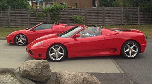 RED DEVIL RACING JETZT MIT 33% RABATT! Erlebnisgeschenk Gutschein 30 Minuten Ferrari selber fahren in Frankfurt - AUTO BILD getestet!