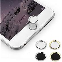 phifo botón de inicio pegatina (apoyo sistema de identificación de huellas dactilares) para iphone 5S iphone 6/6S iPhone 6/6S Plus iPad Mini 3/4