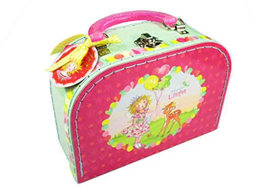Princess Lillifee Cardboard Suitcase, 20 x 14 x 18 cm, Model# 11443 by Princess Lillifee
