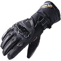 Guantes de motos Invierno cálido impermeable guantes de protección a prueba de viento Guantes Luvas modelos de actualización (puede pantalla táctil)