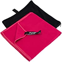 Oxid7extraleichtes y microfibra toalla de secado rápido 90x 180cm–rojo