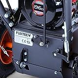 FUXTEC Benzin Kehrmaschine KM196 Motorbesen S...Vergleich