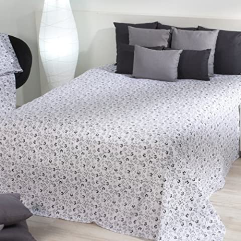 Sancarlos - FOULARD MULTIUSOS VICTORIO & LUCCHINO CLAVEL - Para sofá y cama - 100% Algodón