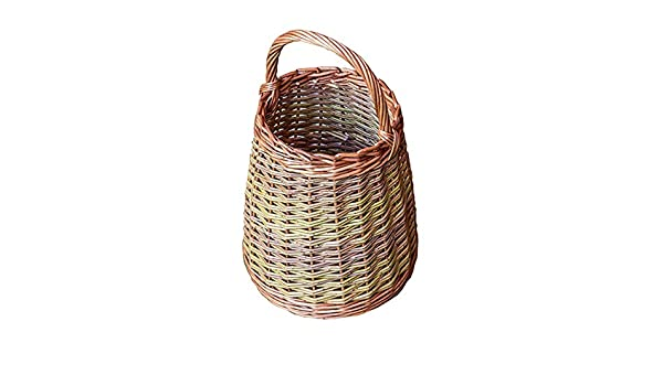 Small Wicker Berry Collecting Basket