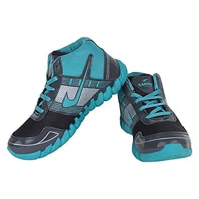 Earton Men's Black & Blue EVA Running Shoes 8 UK
