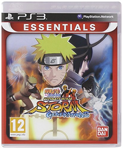 Namco Bandai Games Naruto Shippuden - Juego (PlayStation 3, PlayStation 3, Lucha)