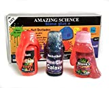 #10: Bucketbolt Slime Making kit for Kids. Make Galaxy Slime, neon Slime, Fruity Punch Slime. Useful in Science Projects, Hobby Ideas, Arts and Crafts. Make 8+ Slimes