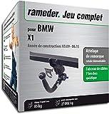 Attelage Amovible pour BMW X1 + faisceau 7 broches (144076-08277-1-FR)