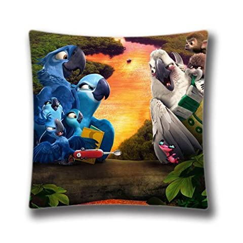 Generic Decorative Pillowcase for Sofa Rio Amazon Rainforest Journey Cushions Cases Pillow Covers 18
