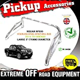 Sportiva in acciaio INOX accessori roll bar 76mm