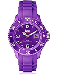 Ice-Watch Damen-Armbanduhr Sili-Forever Small Violett Analog Quarz SI.PE.S.S.09