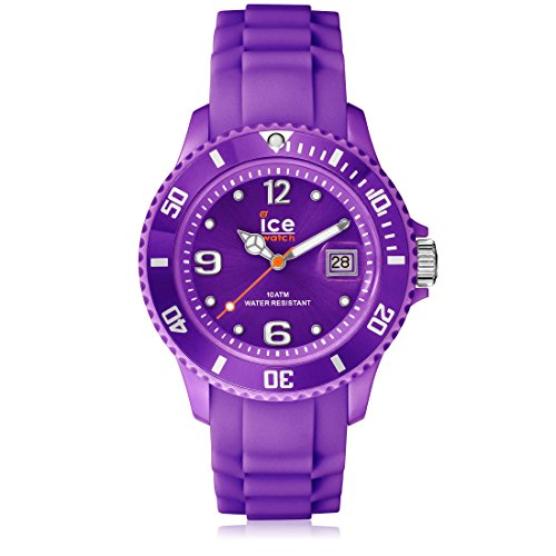 Ice-Watch - ICE forever Purple - Lila Damenuhr mit Silikonarmband - 000141 (Medium)