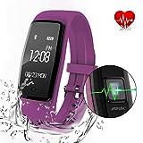 Best AGPtek Bluetooth For Samsungs - AGPtek Heart Rate Fitness Tracker Watch, Updated Activity Review