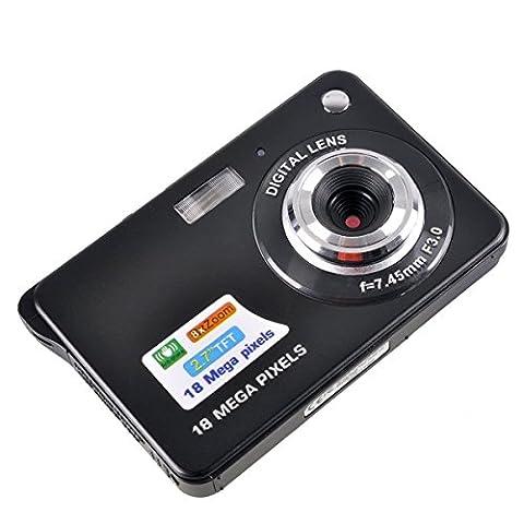 PowerLead 2,7 Zoll TFT LCD HD Mini Digital Kamera-schwarz