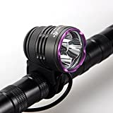 CREE XM-L L2 LED-Fahrrad-Frontscheinwerfer Fahrrad Fahrrad-Scheinwerfer Taschenlampe wasserdicht IPX4