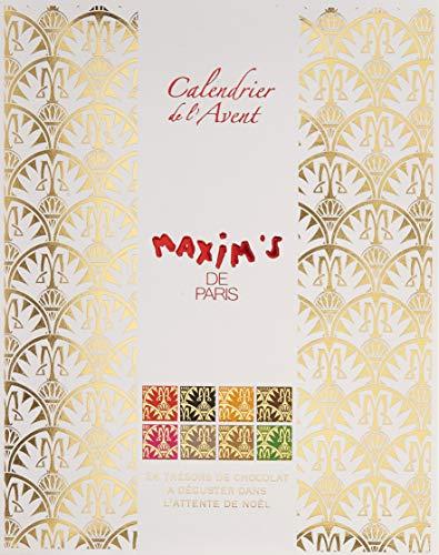 Maxim's de Paris Chocolate Advent Calendar, 120 g