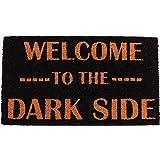 La Finesse Decoratief Coir Ingang Deur Mat, Welcome To The Dark Side, 70 cm x 40 cm