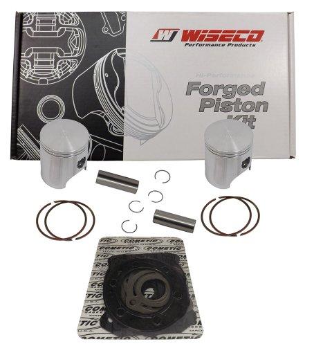 WISECO übernimmt (sk1305) 73,00mm 2-Takt-Kolben-Kit für Polaris Schneemobil (Schneemobil-rennen)