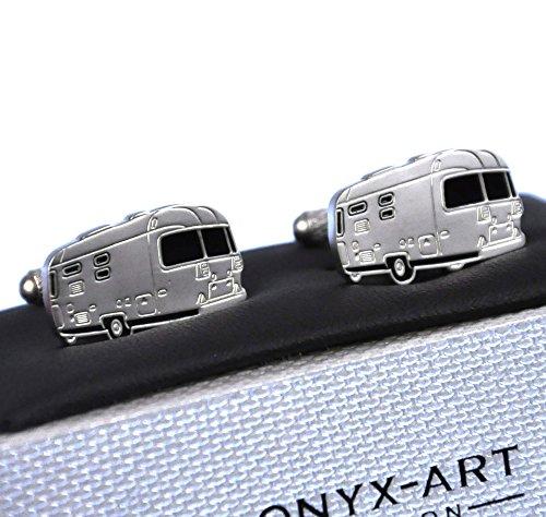 Boutons de manchette: Airstream caravane américaine
