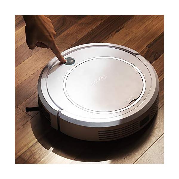 Cecotec-Conga-750-Robot-aspirador-4-en-1-limpieza-automtica-navegacin-inteligente-Itech-Easy-silencioso-apto-para-pelo-de-mascota-gran-potencia-de-succin