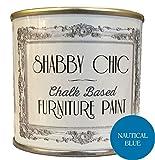 Shabby Chic, vernice per mobili a base di gesso, 250 ml, blu, 13033/250
