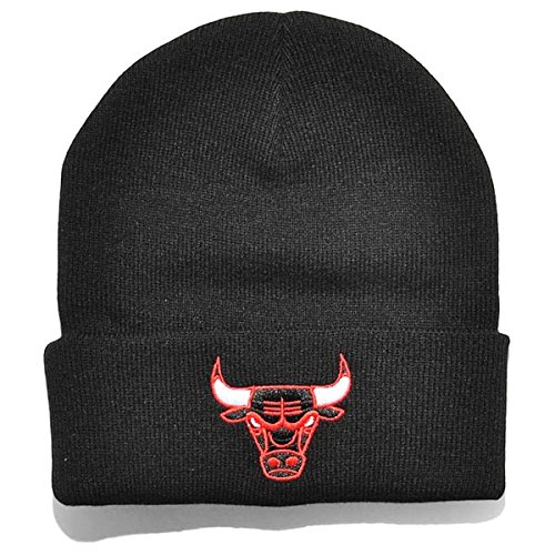 Mitchell And Ness - Bonnet Homme Chicago Bulls Headline Cuff Knit