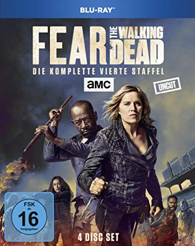 Fear the Walking Dead - Die komplette vierte Staffel - Uncut [Blu-ray]