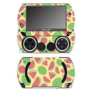 Disagu SF-14232_1068 Design Folie für Sony PSP Go – Motiv Wassermelonen gelb transparent
