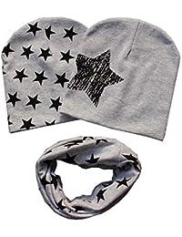 patgoal Baby berretto o-ring sciarpa ragazze bambini bambino sciarpa  cappelli cappelli f6f900810c1e
