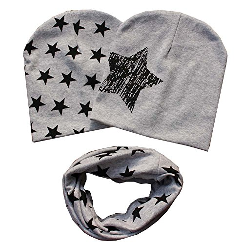Bestanx Fashion Baby Cap O-ring Scarf Boy Girl Toddler Shawl Child Scarf Hats Caps