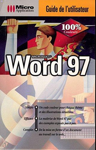 Word 97 : Microsoft