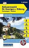 Deutschland Outdoorkarte 40 Schwarzwald St.Georgen-Triberg 1 : 35.000: Furtwangen-Wolfach. Wanderwege, Radwanderwege, Nordic Walking, Skilanglauf, Skitouren (Kümmerly+Frey Outdoorkarten Deutschland) -