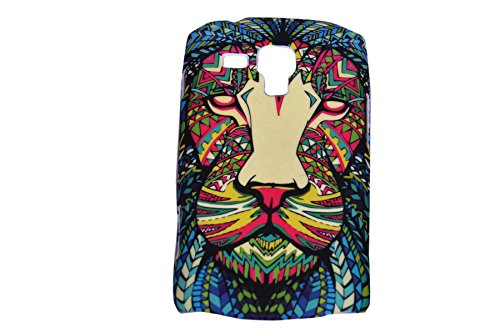 Aztec Animal Lion Designer Print Snap-On Hard Slim Back Flexible Bumper Case Cover For Samsung Galaxy S 7562 Duos  available at amazon for Rs.149