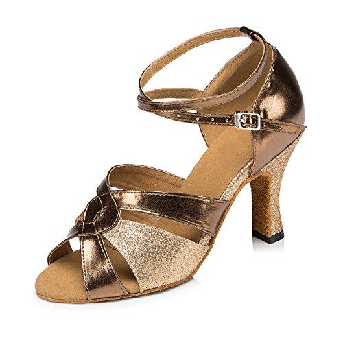 Minitoo ,  Damen Tanzschuhe , Gold - gold - Größe: 38